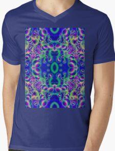 Psychedelic Visions Mens V-Neck T-Shirt
