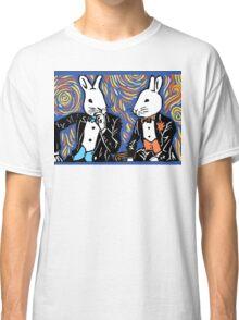 SPLIT HARES (colored) Classic T-Shirt