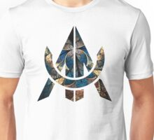 Awe Stain Glass Unisex T-Shirt
