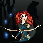 Disney Princesses - Merida by Lauren Eldridge-Murray