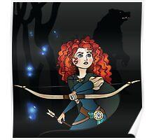 Disney Princesses - Merida Poster
