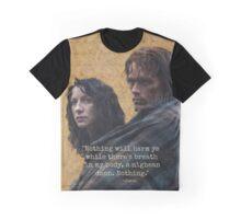 Outlander/Jamie & Claire Fraser/Diana Gabaldon Graphic T-Shirt