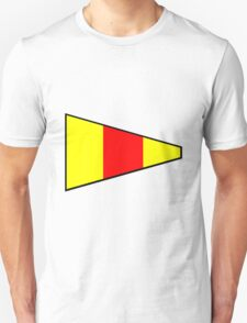 Number 0 Pennant Unisex T-Shirt