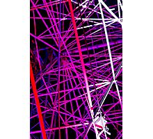 Ferris Wheel Abstract - Dark Mofo 2014 Photographic Print