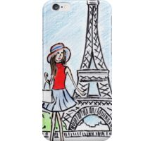 Girl in Paris! iPhone Case/Skin