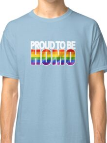 LGBT Gay Pride Parade Swag, unique rainbow gifts for Equal Rights Classic T-Shirt