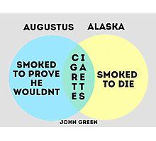 Alaska/Augustus Venn Diagram Photographic Print