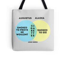 Alaska/Augustus Venn Diagram Tote Bag