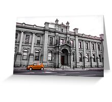 History remains alive Greeting Card
