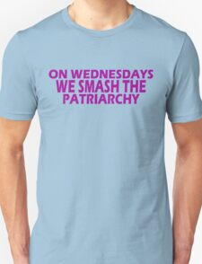 Feminist Smash The Patriarchy gifts for Equal Rights,unique swag Unisex T-Shirt