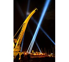 Craning for the Beam - Dark Mofo 2014 Photographic Print