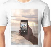 Live in the Present (Selfie) Unisex T-Shirt