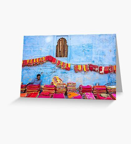 Colorful Jodphur - Rajasthan, India Greeting Card