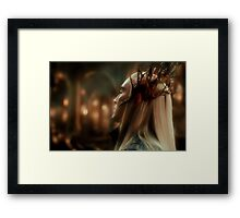 King Thranduil Framed Print