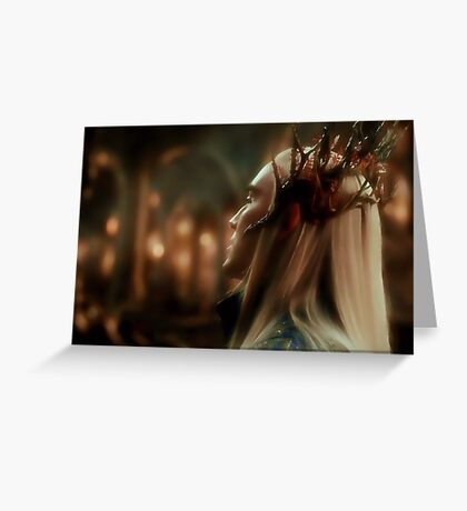 King Thranduil Greeting Card