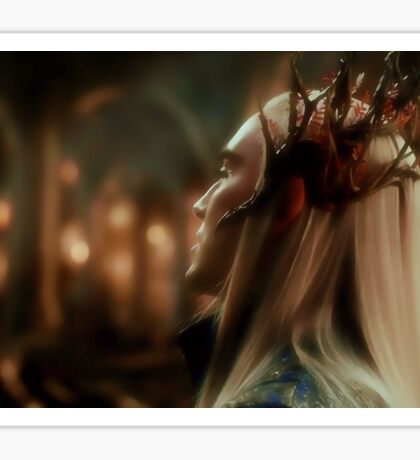 King Thranduil Sticker