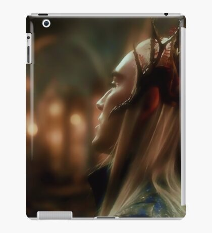 King Thranduil iPad Case/Skin