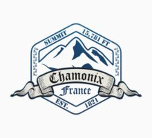 Chamonix Ski Resort France by CarbonClothing