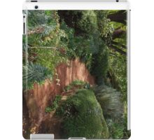 Up the garden path iPad Case/Skin
