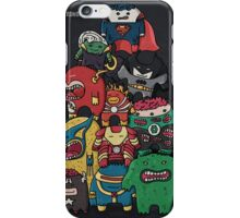 monsters are super heroes iPhone Case/Skin