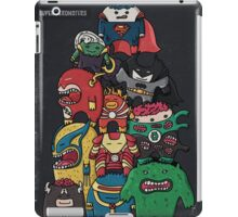 monsters are super heroes iPad Case/Skin