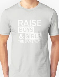 Gender Equality, Feminist, Equal Rights Swag, unique gifts Unisex T-Shirt