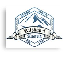Kitzbuhel Ski Resort Austria Metal Print