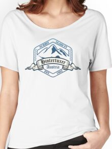 Hintertuxer Ski Resort Austria Women's Relaxed Fit T-Shirt