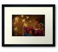 This is Magic Framed Print