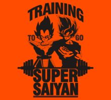 Training to go Super Saiyan v2 Kids Clothes