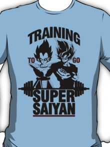 Training to go Super Saiyan v2 T-Shirt