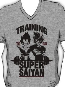 Training to go Super Saiyan v2 T-Shirt