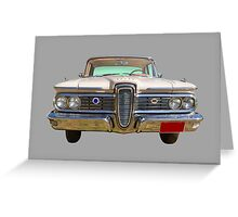 1959 Edsel Ford Ranger Greeting Card