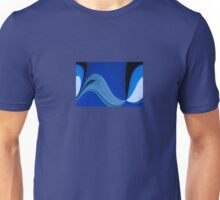 Blues Abstract Unisex T-Shirt