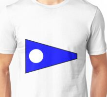 Number 2 Pennant Unisex T-Shirt