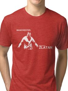 Manchester, Welcome to Zlatan Tri-blend T-Shirt
