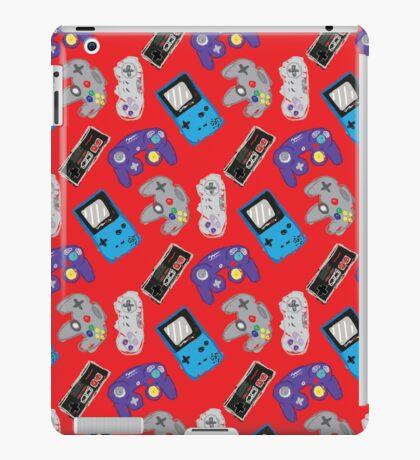 Nintendo Nostalgia - Red iPad Case/Skin