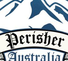Perisher Ski Resot Australia Sticker