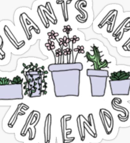 love plants Sticker