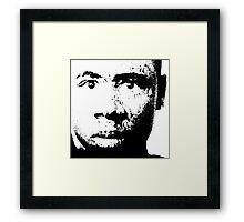 PX FACE Framed Print