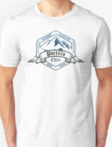 Portillo Ski Resort Chile Unisex T-Shirt
