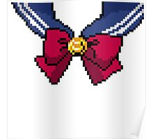 Pixel Sailor Moon Scout Collar Poster