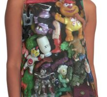 Toys Contrast Tank
