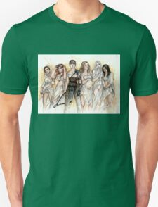 Furiosa and The Wives Unisex T-Shirt