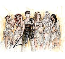 Furiosa and The Wives Photographic Print