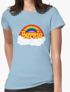 Bernie is Love Rainbow, Pride Week Swag, Feel the Bern unique Gifts Womens Fitted T-Shirt