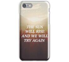 twenty one pilots Truce Lyric Art iPhone Case/Skin