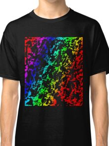 Rainbow of Colors Abstract 62916 Classic T-Shirt