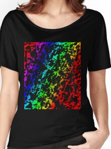 Rainbow of Colors Abstract 62916 Women's Relaxed Fit T-Shirt