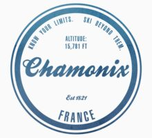 Chamonix Ski Resort France Kids Clothes